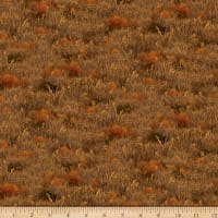 QT Fabrics Deer Valley Grass Brown