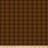 QT Fabrics Deer Valley Plaid Brown