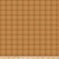 QT Fabrics Deer Valley Plaid Dark Tan