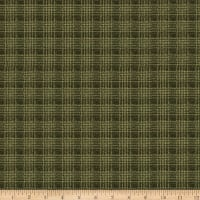 QT Fabrics Deer Valley Plaid Evergreen