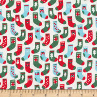 Cloud 9 Fabrics Noel Fill with Love Organic Multi