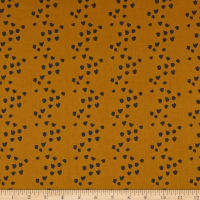 Cloud9 Fabrics Underwood Stories Elfin Saddles Fall Mustard