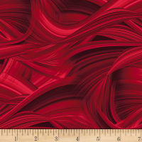 "Sedona Wave 108"" Wave Texture Red"