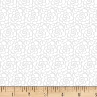 Vanilla Icing III Packed Floral White/Gray