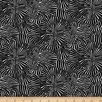 Domino Effect Spiral Abstract Black