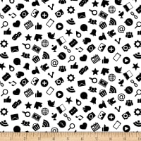 Domino Effect Icons White
