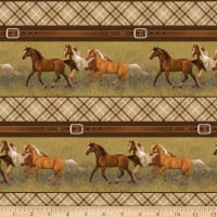 Hold Your Horses Stripe Brown