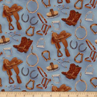 Hold Your Horses Tossed Items Blue