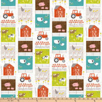 Wildflower Farm Patchwork Strip Multi