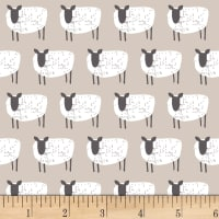 Wildflower Farm Sheep Light Gray