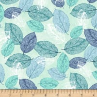 Viva Terra Leaves Teal