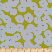 Cloud9 Fabrics Business Class Rayon Challis Editor Green
