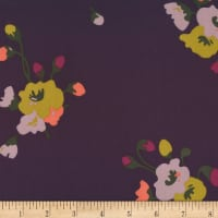 Cloud9 Fabrics Business Class Rayon Challis Poet Purple