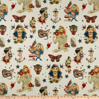 Alexander Henry Fabrics Anchors Away Tea