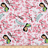 Combine Springs Creative Disney Princess Mulan Dreams Blossom White