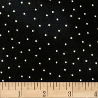 Maywood Studio Beautiful Basics Scattered Dot Black