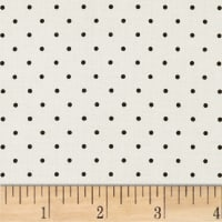 Maywood Studio Beautiful Basics Classic Dot White Black