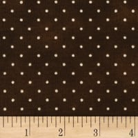 Maywood Studio Beautiful Basics Classic Dot Chocolate Brown