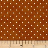 Maywood Studio Beautiful Basics Classic Dot Burnt Orange