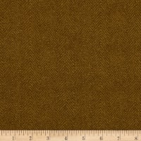Maywood Studio Woolies Flannel Herringbone Light Brown