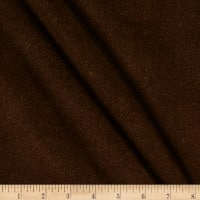 Maywood Studio Woolies Flannel Herringbone Dark Brown