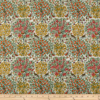 Liberty Of London Orchard Garden Pheasant Forest White