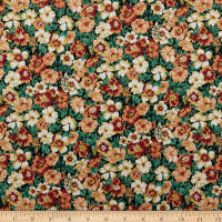Liberty Of London Orchard Garden Peach Bloom Black