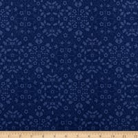 Liberty Of London Orchard Garden Gated Shadow Blue