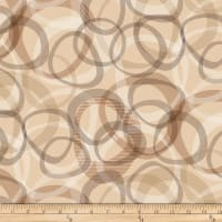 "Transparencies Quilt Back 108"" Latte"