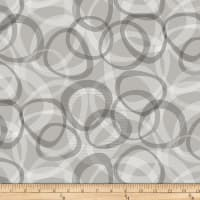 "Transparencies Quilt Back 108"" Fog"