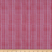 Loralie Designs It's A Party! Party Stripe Purple/Red