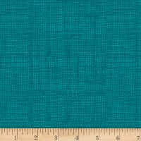 Into The Woods Linen Texture Teal