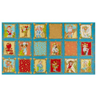 "Loralie Designs Whoa Girl! Whoa Girl! 24"" Panel Blue"