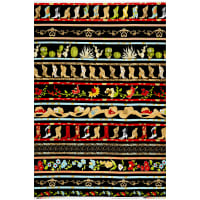"Loralie Designs Whoa Girl! 24"" Border Panel Black"