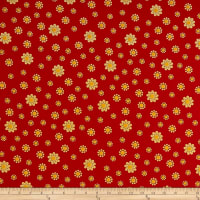 Loralie Designs Whoa Girl! Bandana Dots Red