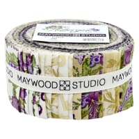 "Maywood Studio Aubergine 2.5"" Strips  42pcs Multi"