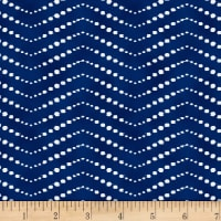 Nature Walk Indigo Chevron Indigo