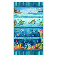 "Ocean State 24"" Panel Blue"