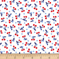 Patriotic Parade Mini Cherries White