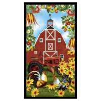 "Farmer's Market Banner 24"" Panel Green"