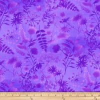 Feather & Flora, Wildflower Toss, Purple
