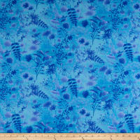 Feather & Flora Wildflower Toss Blue