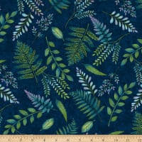 Feather & Flora, Fern, Midnight