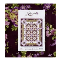 "Maywood Studio Kit Aubergine 72"" Quilt Kit Multi"