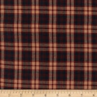 Old Glory Plain Plaid Navy/Wine/Natural