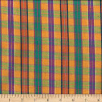 Santa Fe Small Plaid Gold