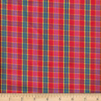 Santa Fe Small Plaid Multi Bright