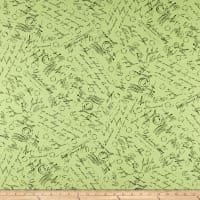 Maywood Studio Chloe Script Light Green