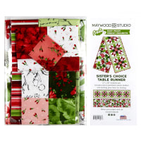 "Maywood Studio Pods Chloe Sister's Choice 13"" x 58"" Table Runner Pod Kit Multi"