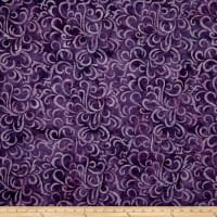 Maywood Studio Coastal Chic Batiks Swirls Deep Purple